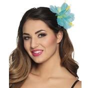 PartyXplosion Hawaii bloemen haarklem