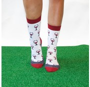 "Hingly Fun-Socks ""Casual Wine Time"" maat 41-44"
