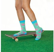 "Hingly Fun-Socks ""Casual Flamingo"" maat 36-40"