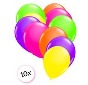 Joni's Glow-Shop Ballonnen Neon 10 stuks 25 cm