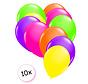 Ballonnen Neon 10 stuks 25 cm