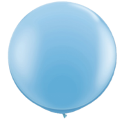 Joni's Winkel MEGA Topping ballon 61 cm Baby blauw