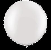 Joni's Winkel MEGA Topping ballon 61 cm Wit