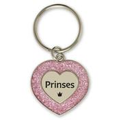 """Miko Glitter Sleutelhanger """"Princess"""""""