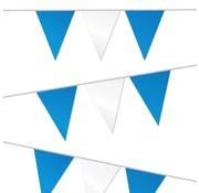 PartyXplosion Vlaggenlijn blauw/wit 10m