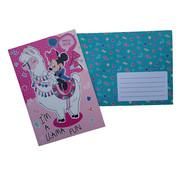 "Disney Wenskaart Disney's Minnie Mouse ""Llama fun"""