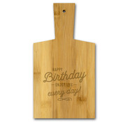 "Miko Borrelplankje ""Happy Birthday"""