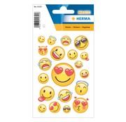 "Herma Transpuffy sticker ""Happy Smile"""