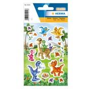 "Herma Transparante sticker ""Babydino's"""