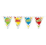 Folat Vlaggenlijn Happy Birthday Feest 6 meter