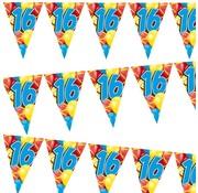 Miko Vlaggenlijn Ballonnen 16 jaar 6 meter