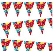 Miko Vlaggenlijn Ballonnen 50 jaar 6 meter