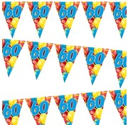 Miko Vlaggenlijn Ballonnen 60 jaar 6 meter