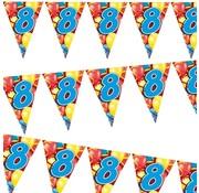 Miko Vlaggenlijn Ballonnen 8 jaar 6 meter