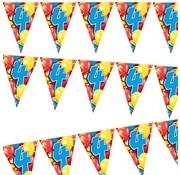 Miko Vlaggenlijn Ballonnen 4 jaar 6 meter