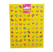 Dutchbook Stickers Insecten 76 stuks