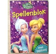 Disney Spellenblok met Tattoos! - Disney Fairies