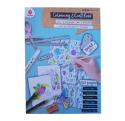 """Colouring & Craft book """"Smile"""""""