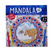 Dutchbook Mandala kleurboek 72 kleurplaten
