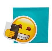 """Phonicons Wenskaart Emoji """"Selfietime"""""""