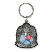 """Miko Luxe sleutelhanger """"Opa & Oma"""""""