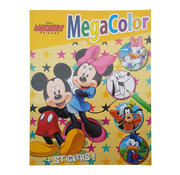 Disney Disney's Mickey & Friends Kleurboek +/- 120 kleurplaten + Stickers (Mickey & Minnie)
