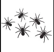 """Halloween muurstickers """"Spinnen"""" 12 stuks"""