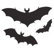 """Halloween muurstickers """"Vleermuizen"""" 12 stuks"""