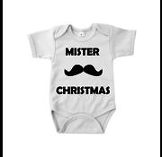 "Joni's Winkel Baby rompertje ""Mister Kerst"" Maat 62"