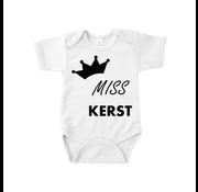 "Joni's Winkel Baby rompertje ""Miss Kerst"" Maat 62"