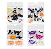 Raamstickers Jelly halloween 4 stuks