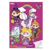 Sense Kleurboek Prinses