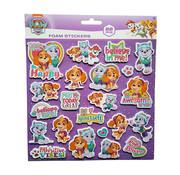 "Nickelodeon Foam Stickers ""Paw Patrol Roze"" +/- 22 Stickers"
