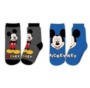 Disney Sokken Mickey Blauw/Grijs maat 27 - 30