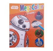 "Disney Star Wars  ""BB-8"" Kleurboek +/- 120 kleurplaten + Stickers"