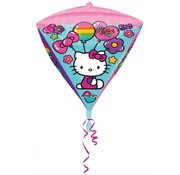 Anagram Diamondz Folieballon Hallo Kitty 38 x 43 cm