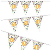Haza Original Vlaggenlijn Confetti ''1 jaar'' 10m