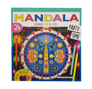 "Dutchbook Mandala kleurboek ""Party Time"""
