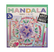 "Dutchbook Mandala kleurboek ""Winter Paradise"""