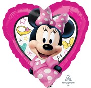 "Anagram Standard Shape Folieballon Minnie Mouse ""Happy Helpers"" - 43 x 43 cm"