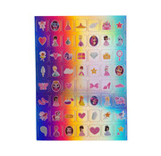 "Joni's Winkel Holografische Stickers 112 stuks ""Fantasy"""