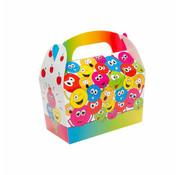 Traktatie doosjes Emoji 12 stuks
