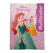 "Disney Disney's Princess ""Ariël & Assepoester"" Kleurboek +/- 16 kleurplaten"