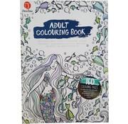 """Decotime Kleurboek voor volwassenen 160 Pagina's """"zeemeermin"""""""
