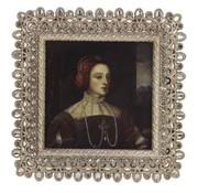 Fotolijstje met Strass steentjes - foto van 8,5x8,5cm