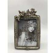 Foto lijstje 13x18 cm Zilverkleurig