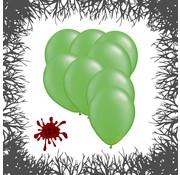 Joni's Halloween Shop Premium Ballonnen Zombie Green 12 stuks 30 cm