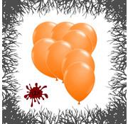Joni's Halloween Shop Premium Ballonnen Pumpkin Orange 12 stuks 30 cm