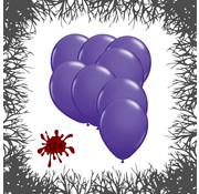 Joni's Halloween Shop Premium Ballonnen Poison Purple 12 stuks 30 cm