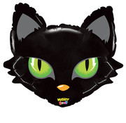 Grabo-Balloons Folieballon Mighty Cat Head 71 cm